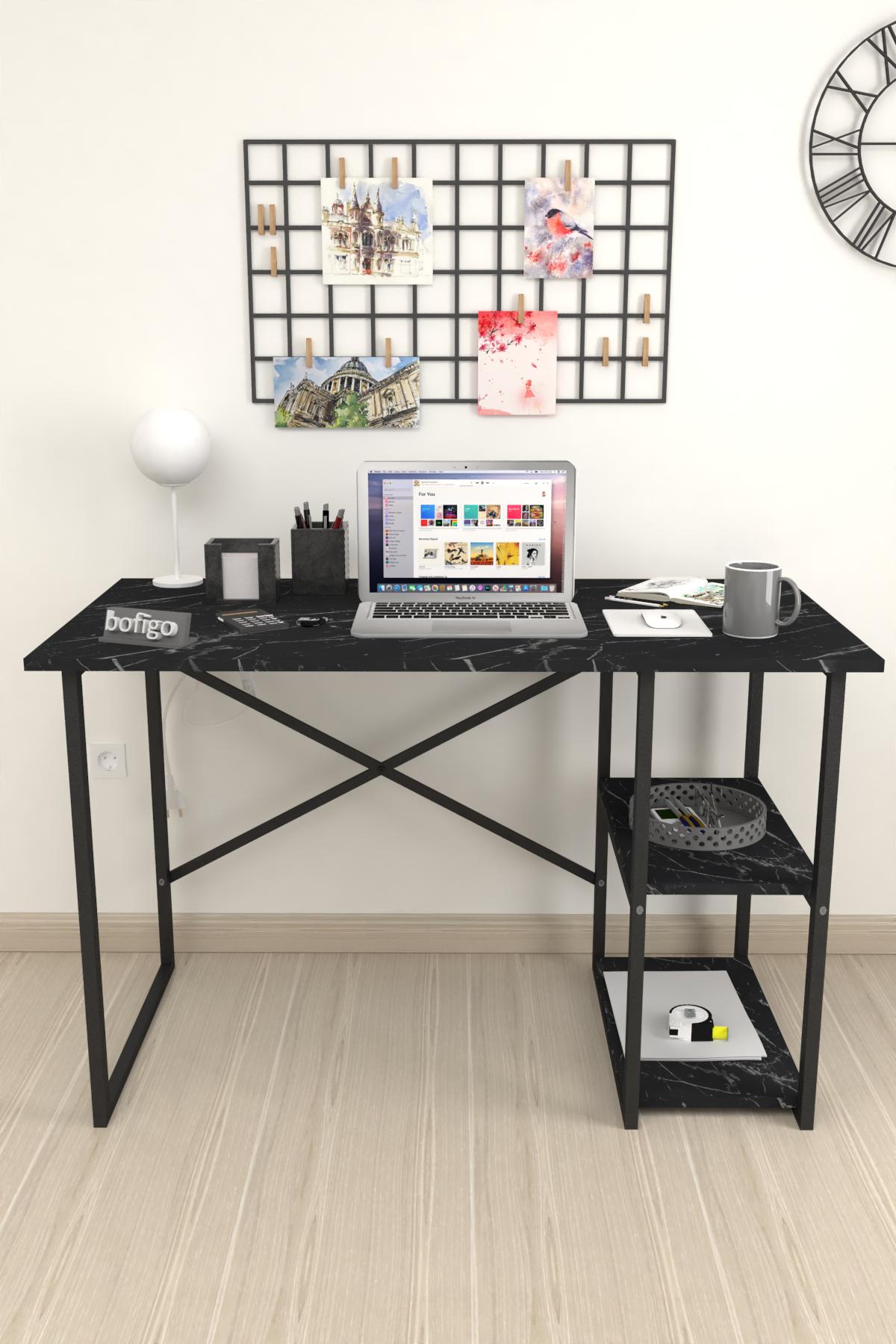 Bofigo 2 Shelf Desk 60x120 cm Bendir