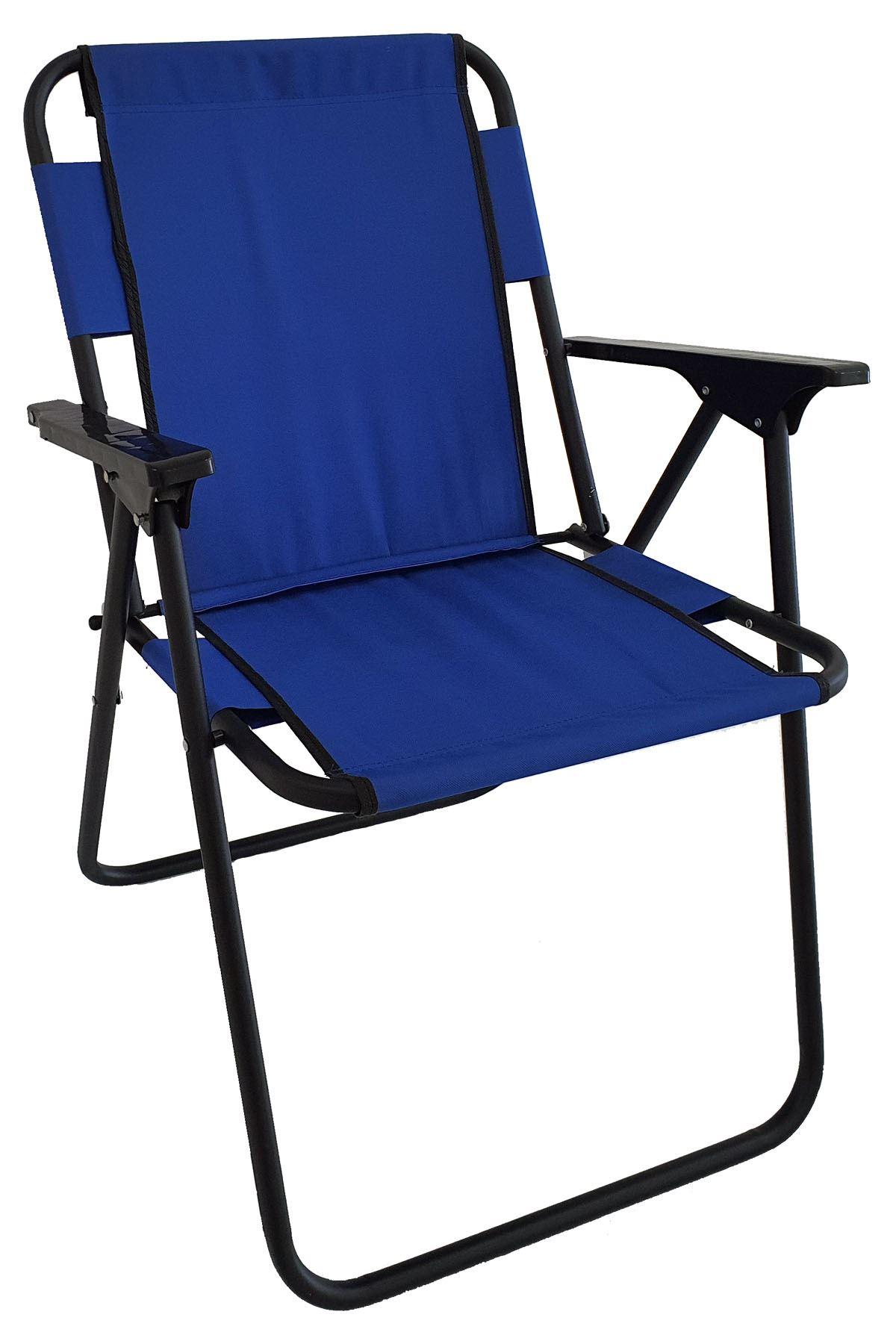 Bofigo Camping Chair Folding Chair Picnic Chair Beach Chair Blue