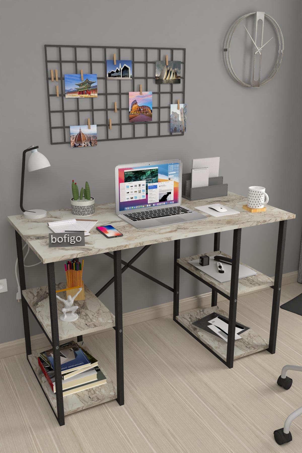Bofigo 4 Shelf Desk 60x120 cm Efes