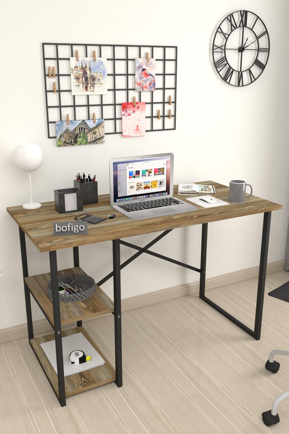 Bofigo 2 Shelf Desk 60x120 cm Patik