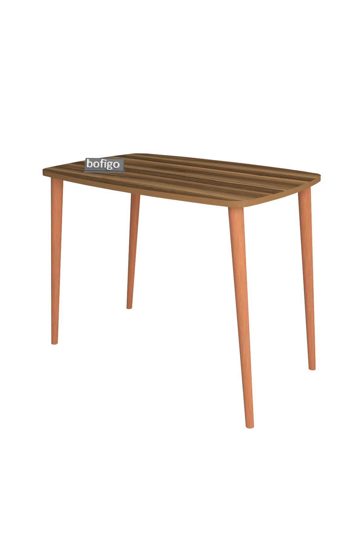 Bofigo Desk 60x90 Cm Walnut (Wooden Leg)