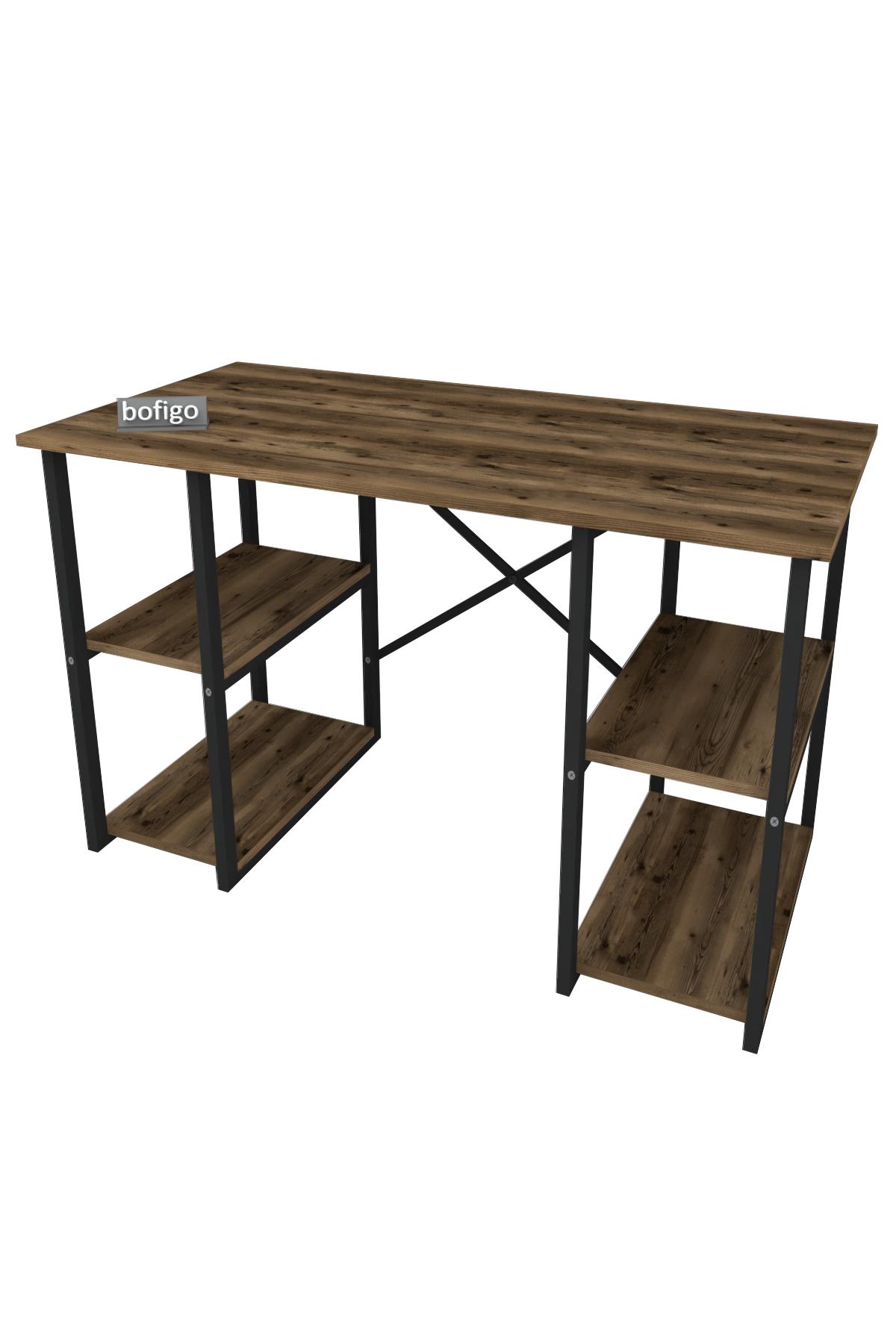 Bofigo 4 Raflı Çalışma Masası 60x120 cm Lidya