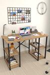 Bofigo 4 Raflı Çalışma Masası 60x120 cm Çam