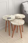 Bofigo Wooden Leg Nesting Table Efes