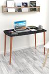 Bofigo Desk 60x105 Cm Bendir (Wooden Leg)