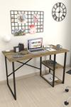 Bofigo 2 Raflı Çalışma Masası 60x120 cm Patik