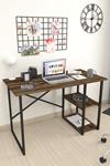 Bofigo 2 Raflı Çalışma Masası 60x120 cm Lidya
